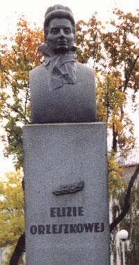 Памятник Элизе Ожешко