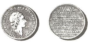 Медаль в честь спасения. Ж.Э. Жилибер 1783